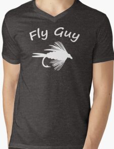 Fly Guy  - Fly Fishing T-shirt Mens V-Neck T-Shirt