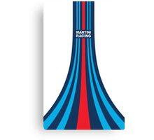Martini Racing Stripes Canvas Print