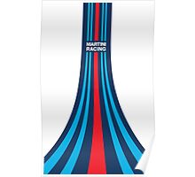 Martini Racing Stripes Poster