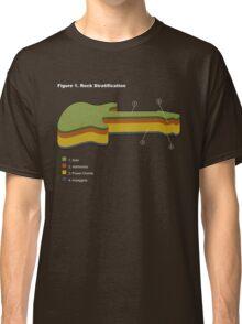 Rock Stratification Classic T-Shirt