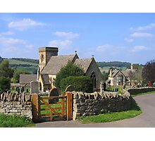 St. Barnabas Church,  Snowshill, Gloucestershire, England Photographic Print