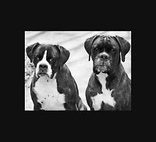 Portrait of 2 boxers -Boxer Dogs Series- Unisex T-Shirt