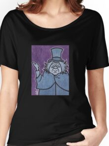Phineas - Hitchhiking Ghost - The Haunted Mansion Women's Relaxed Fit T-Shirt