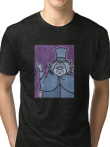 Phineas - Hitchhiking Ghost - The Haunted Mansion Tri-blend T-Shirt