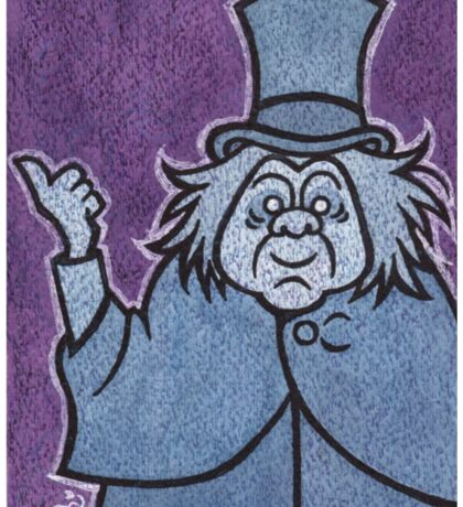 Phineas - Hitchhiking Ghost - The Haunted Mansion Sticker