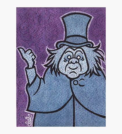 Phineas - Hitchhiking Ghost - The Haunted Mansion Photographic Print