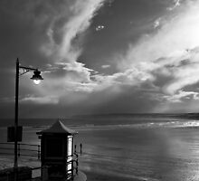 Filey in B&W by Svetlana Sewell