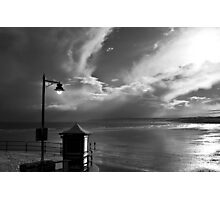 Filey in B&W Photographic Print