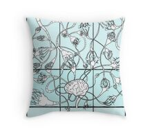 Reason (Neural Network) (Color) Throw Pillow