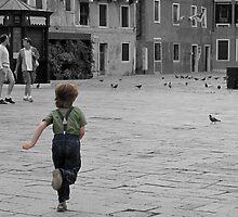 Running Boy by Monty Fowler