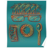 Sweet Glasses - Vintage Poster