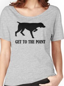 Get to the Point Women's Relaxed Fit T-Shirt