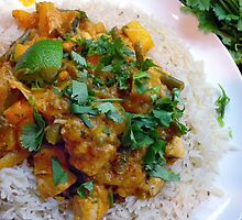 Thai Squash and Pineapple Curry by John Hooton