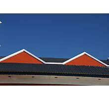 This Roof Inspired Madonna's Conical Bra Photographic Print
