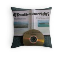 40 Grand Helicopter Photo's Throw Pillow