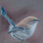Australian Wrens - stand-up ! by JulieWickham