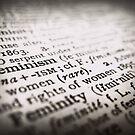 Feminism by Christy Tidwell