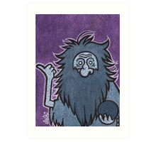 Gus - Hitchhiking Ghost - The Haunted Mansion Art Print