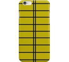 Lemon / Mustard Military Inspired Stripes iPhone Case/Skin