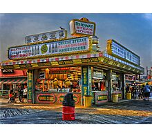 Midway Steak House Photographic Print