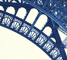 Blue Eiffel by LooseImages