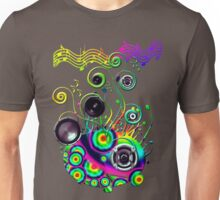 the brains music cells Unisex T-Shirt