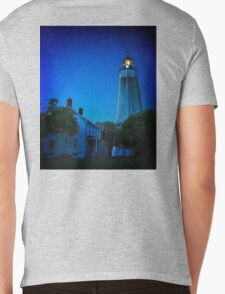 The Sandy Hook Lighthouse at Twilight Mens V-Neck T-Shirt