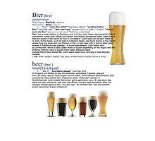 Beer The European hit around the world Photographic Print