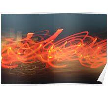 Light Graffiti #2 Poster