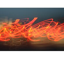 Light Graffiti #2 Photographic Print