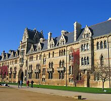 Christ Church College, Oxford, England by hjaynefoster