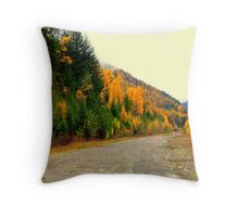 """Montana Back Country"" Throw Pillow"