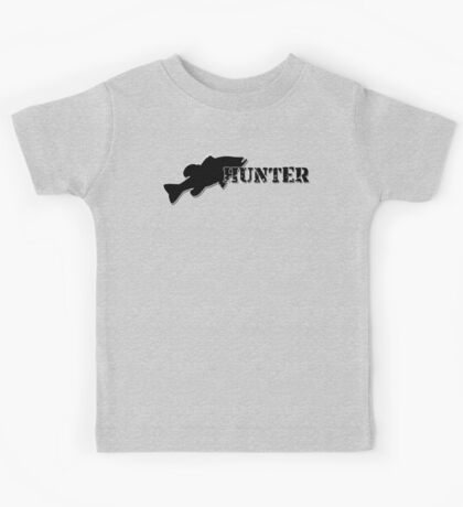 Bass Hunter - Bass fishing t-shirt Kids Tee