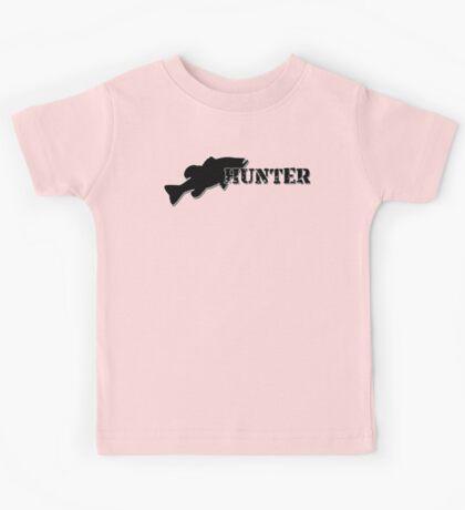 Bass Hunter - Bass fishing t-shirt Kids Tee