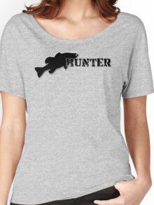 Bass Hunter - Bass fishing t-shirt Women's Relaxed Fit T-Shirt