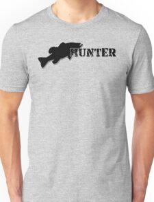 Bass Hunter - Bass fishing t-shirt Unisex T-Shirt