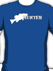 Bass Hunter - Bass fishing t-shirt T-Shirt