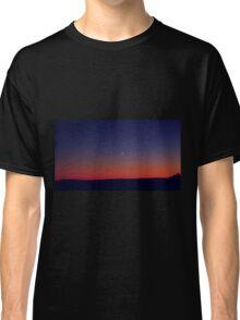 Twilight Waxing Crescent Zone Classic T-Shirt
