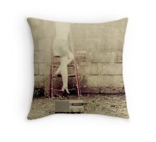 If it's too loud, then you're too old. Throw Pillow