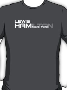 Lewis Hamilton Hammer Time T-Shirt