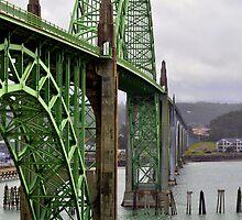 Newport Bridge by scenebyawoman