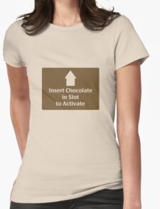 Chocolate in Slot T-Shirt