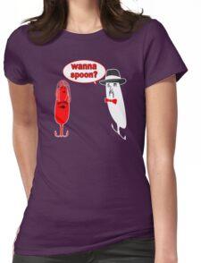 Wanna Spoon - Fishing Tshirt Womens Fitted T-Shirt