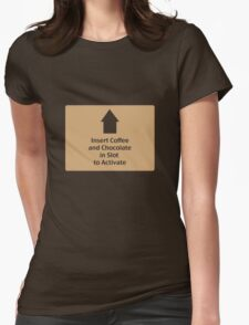 Coffee and Chocolate in Slot T-Shirt