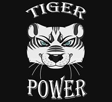 White Tiger Power Unisex T-Shirt