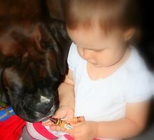 Which Colour? -Boxer Dogs Series- by Evita