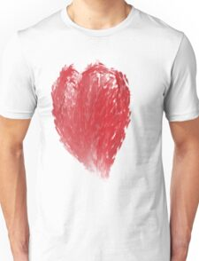 Painted Heart Unisex T-Shirt
