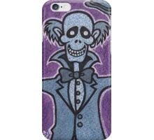 Ezra - Hitchiking Ghost - The Haunted Mansion iPhone Case/Skin