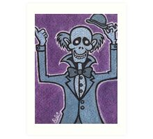 Ezra - Hitchiking Ghost - The Haunted Mansion Art Print