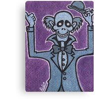 Ezra - Hitchiking Ghost - The Haunted Mansion Canvas Print